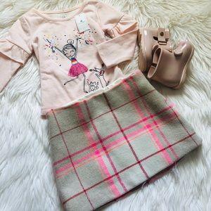 GAP Bottoms - Toddler girl plaid mini skirt